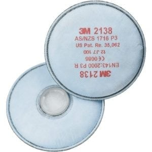 3M 2000 Series 2138 Particulate Filters
