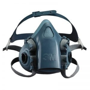 3M 7500 Series Reusable Soft Silicone Half Mask