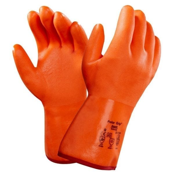 Ansell Polar Grip 23-700 Fully Coated Cold Resistant Gloves