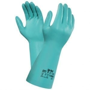 Ansell Solvex® 37-695 Flocked Nitrile Gloves