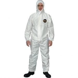 PS1 Prosafe Disposable Coverall Type 5 & 6 SMMS White