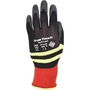 TrueTouch GT2400 Hydropel™ Black / Hi Vis Gloves