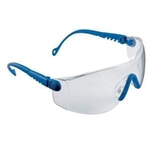 HP513 - Honeywell Sperian Op-Tema Blue Frame Clear Safety Spectacles