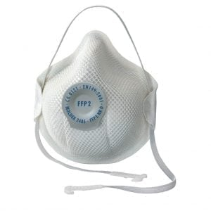 Moldex 2485 Ventex Valved Disposable Dust Mask FFP2D