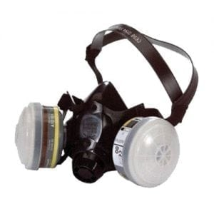 North Twin Filter Half Mask Respirator N7700-30MU (Medium)