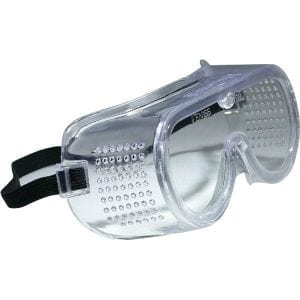 HP912 - JSP Clear Polycarbonate Direct Vent Safety Goggles