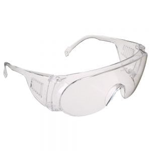 HP915 - JSP M9300 Overspec Clear Lens Safety Glasses