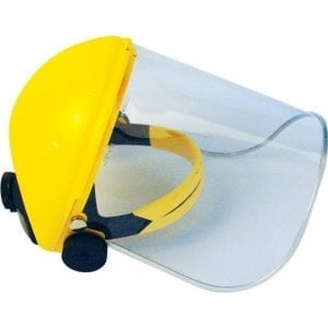 JSP Invincible® Browguard with 20cm Acetate Visor