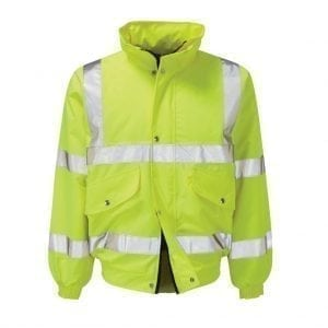 CPHVYBC - Yellow High Visibility Bomber Jacket