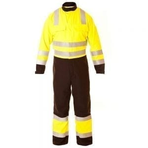 ETF1313YNA - Eagle FR Hi Vis Antistatic ARC Coverall