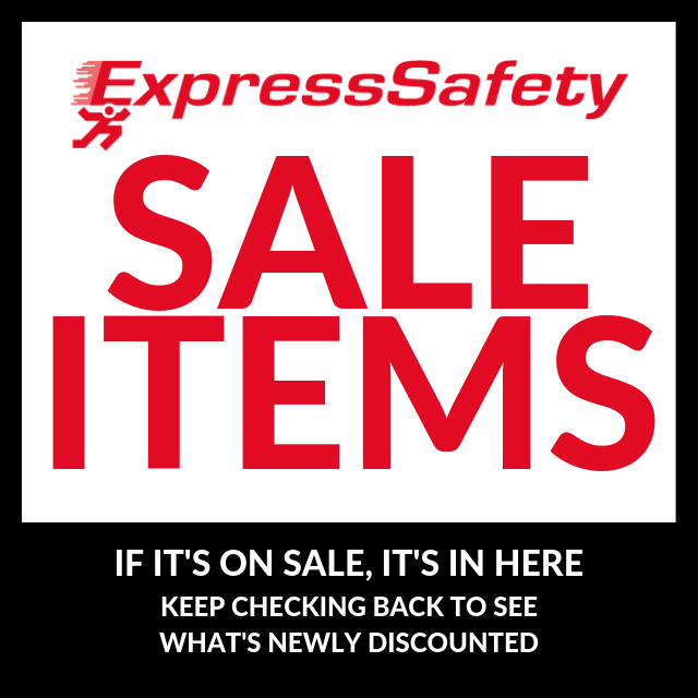 EXPRESS SAFETY SALE ITEMS
