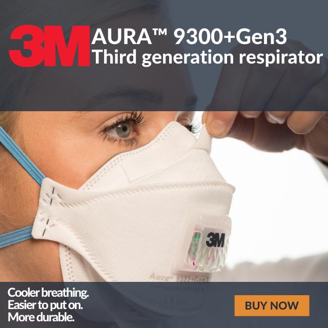 3M Aura 9300+Gen3 Respirators